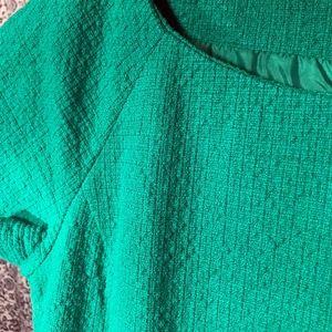 J Crew dress - emerald green